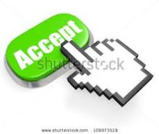 Tap on Acceptance